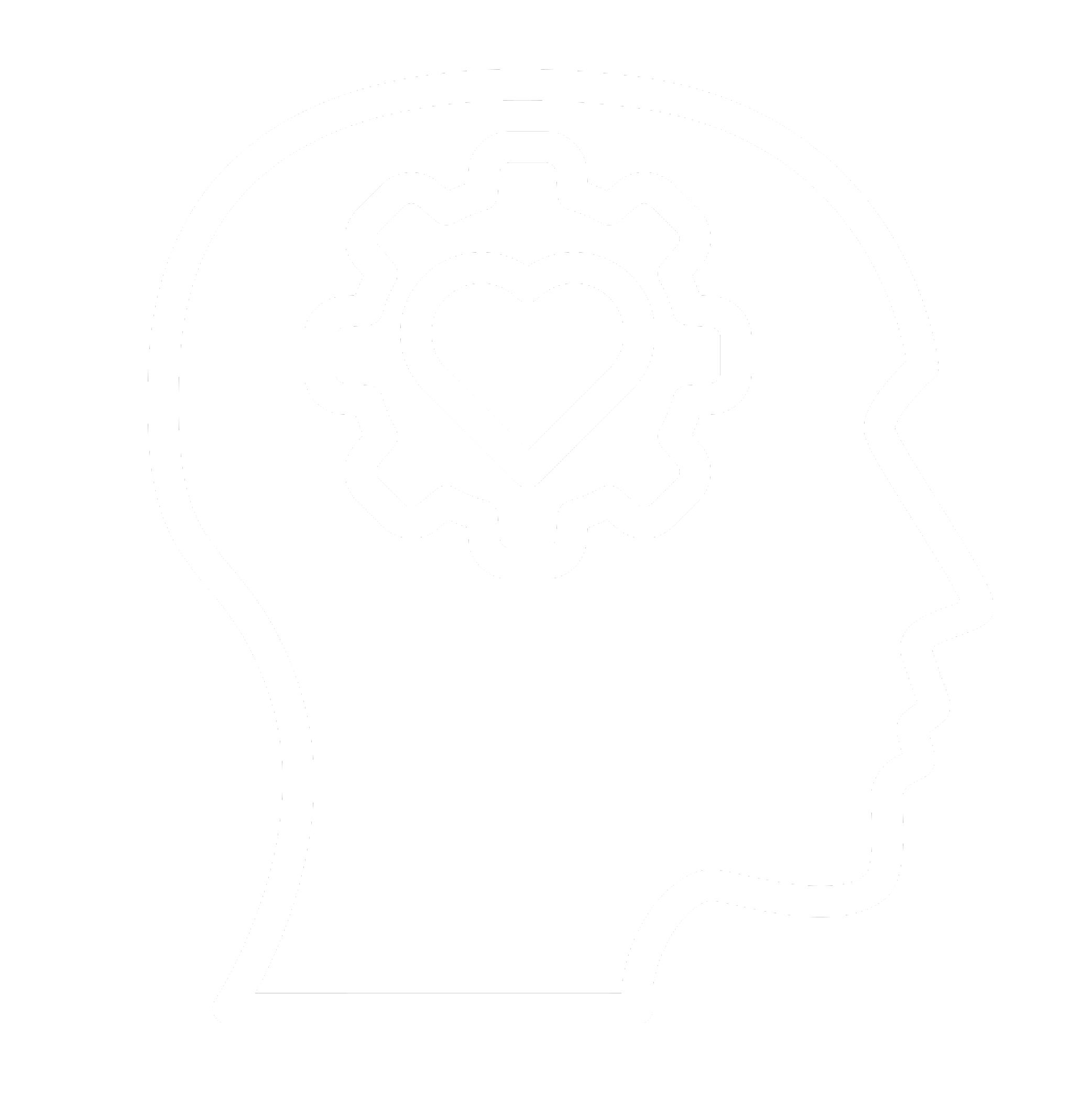 Icon_Encouraging Employee Learning White