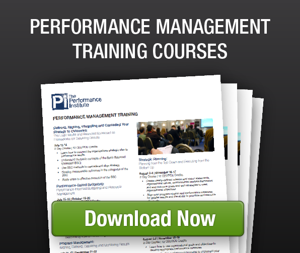 Performance Management Training Courses-2015